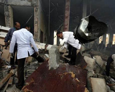 Heath officials in Yemen say over 140 dead in airstrike
