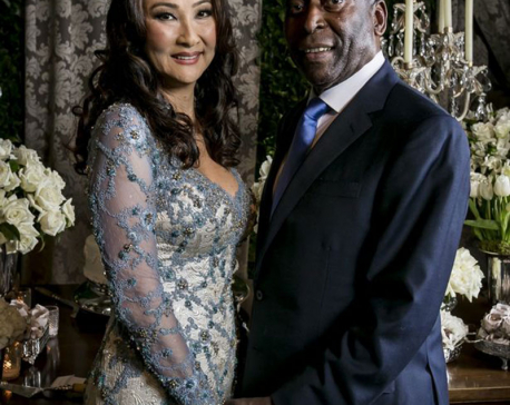Brazil legend Pele marries for a third time at small ceremony in Sao Paulo