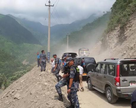 Mugling-Narayangadh road section resumes