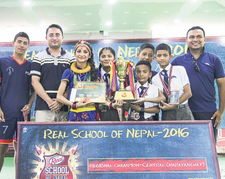 Sainik Awasiya Mahavidyalaya selected regional winner