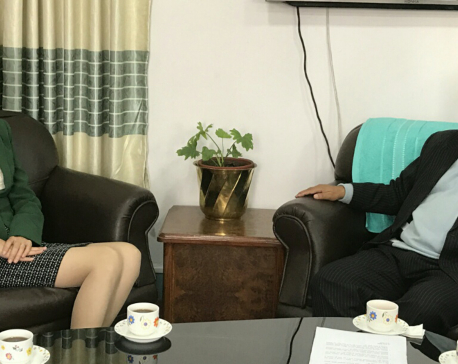 DPM Mahara and Chinese ambassador meet