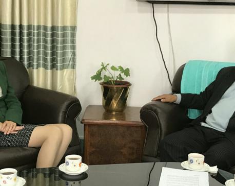 DPM Mahara and Chinese ambassador meet