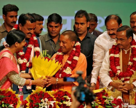 Hardline priest Yogi Adityanath's elevation a sign Modi is moving toward Hindu India