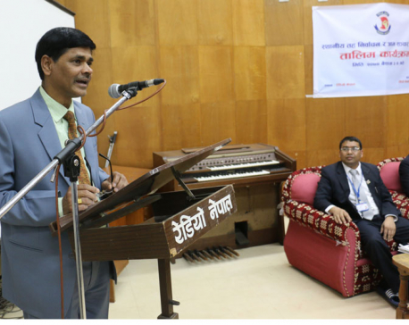 Media has important role for election friendly-environment: CEC Yadav