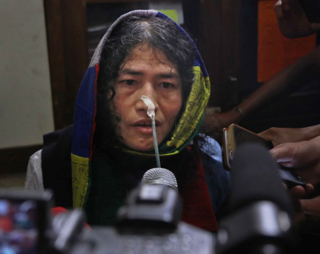 Indian court grants bail for activist fasting for 16 years