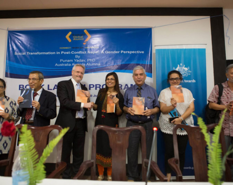 Book on Nepal's social transformation
