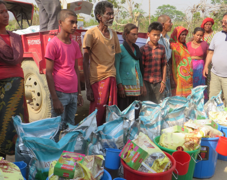 33 Musahar families overjoyed to receive food items (with photo feature)