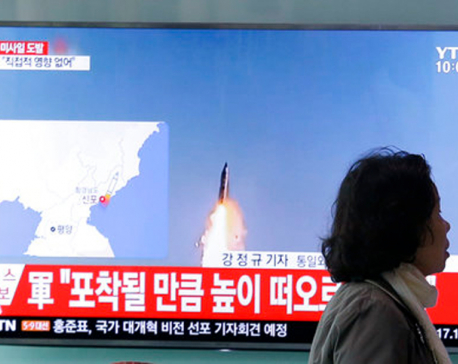 US: North Korean test missile explodes on launch