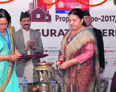 President inaugurates Property Expo