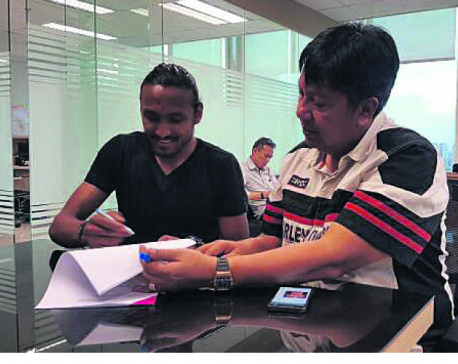 Rohit re-signs with Indonesian club Persija Jakarta