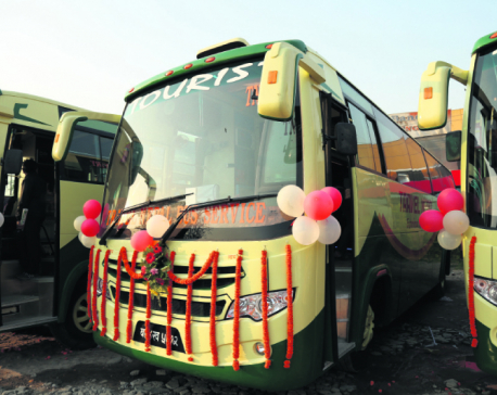 Travel Nepal Bus starts operating Tata Motors' tourist coaches