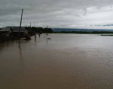 Monsoon floods displace 146 families, destroy 12 houses in Bardiya
