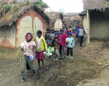 Battling illiteracy: Youths launch tuition classes for community's children