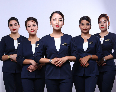 Cabin crews are about more than just smiles, styles and miles