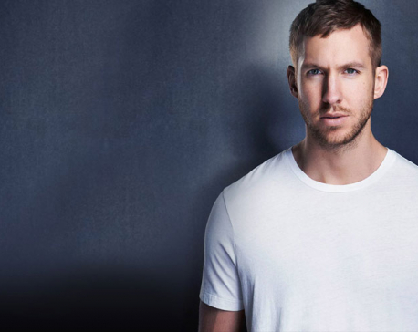 Calvin Harris penning break-up song about Taylor Swift