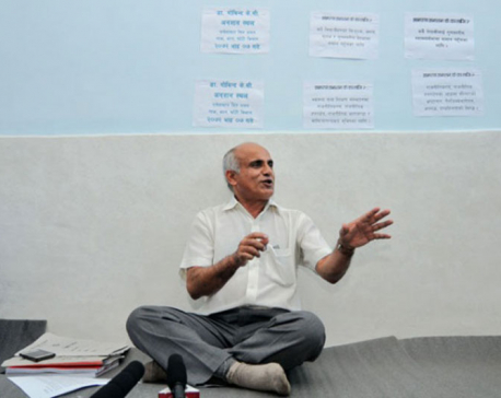 Dr KC announces fast-unto-death demanding to impeach CIAA Chief Karki