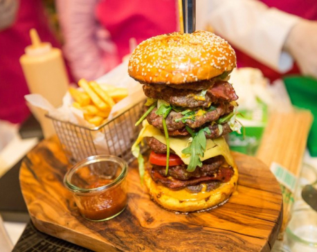 World's most expensive burger sells for $10,000 for charity in Dubai