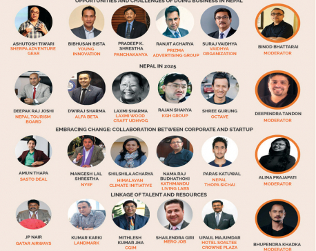 Nepal's top 25 CEOs at King's College