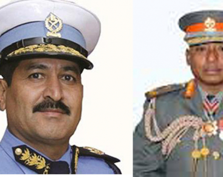 Govt appoints Chand as Nepal Police Chief and Shrestha as APF Chief