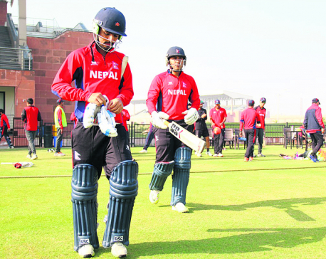 Nepal beats Rajwada in 2nd practice match