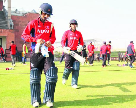 Nepal beats Rajwada in 2nd practice match