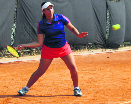 Nepali players' poor run continues in junior tennis