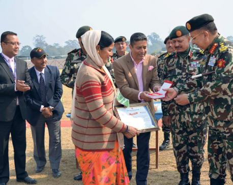 NIBL awards Janaki Devi Bom