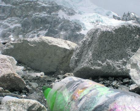 Open defecation in Everest poses risk of health hazard