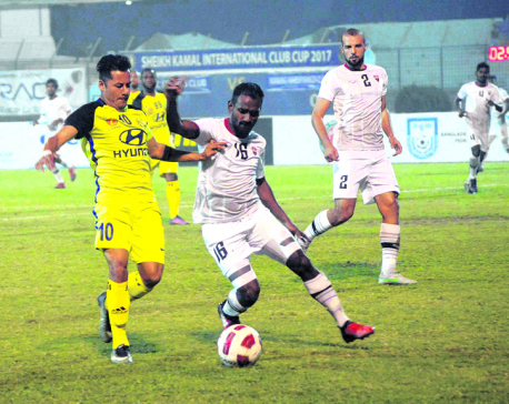Manang crashes out from semifinal in Chittagong