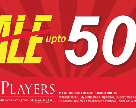John Players announces discounts of up to 50 percent