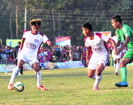 Army into Simara Gold Cup semifinals