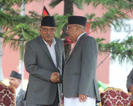 PM assures Oli of poll date before House resumes