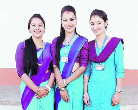 3 daughters from same family in government service