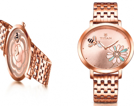 Limited edition Titan timepieces for Valentine's Day