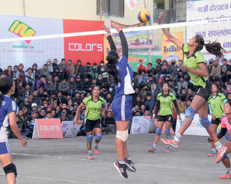 Reed Model in strong position to win Dhorpatan volleyball