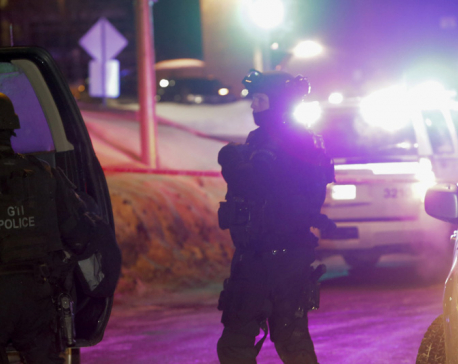 Mosque president says 5 dead in Quebec City shooting