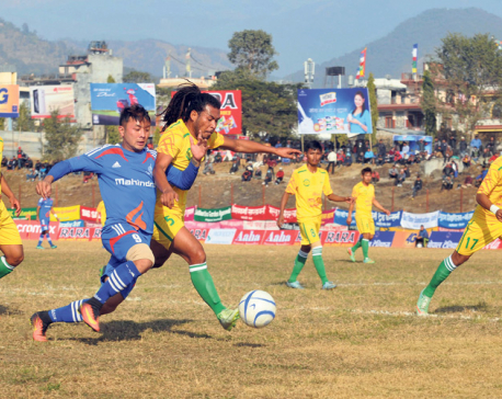 Dharan sends APF packing home in extra-time