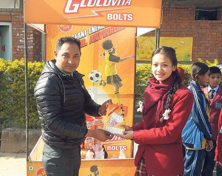 Dayal Trading distributes free Glucovita Bolts samples