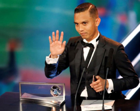 Malaysian Puskas Award winner given hero's welcome on return