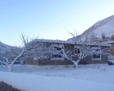 Snowfall in Jomsom (photo feature)