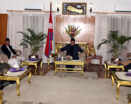 Main three parties agree in principle on organizing local body polls