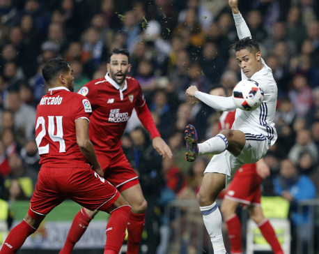 James Rodriguez comes through for Madrid in Copa del Rey win