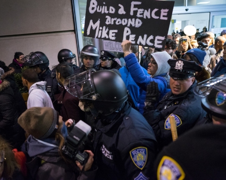 NYC airport becomes scene of anguish after Trump travel ban
