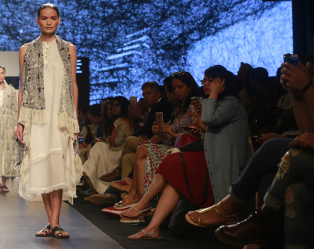Transgender Nepali has her big moment at Lakme Fashion Week (photo feature)