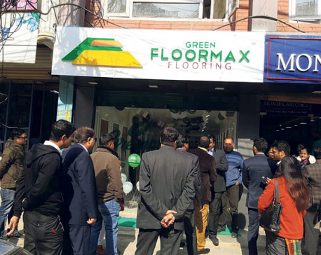 Green Floormax opens showroom at Kumaripati
