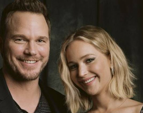 Chris Pratt is the hardest working person I know: Jennifer Lawrence