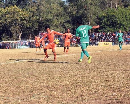 Army, Manang fix summit clash in Hetauda