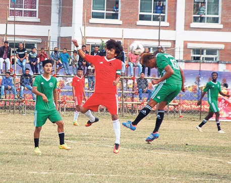 Rupandehi advances into semifinal in Jhapa