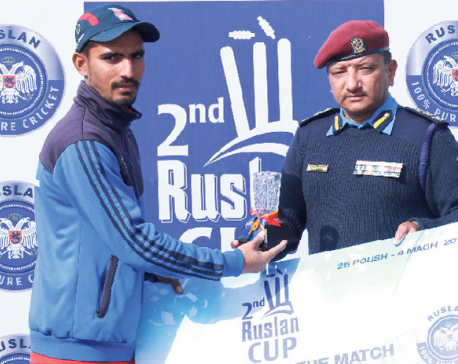 Police, Army open with wins in Ruslan cricket