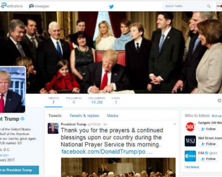 Twitter users forced to follow US President Donald Trump after glitch